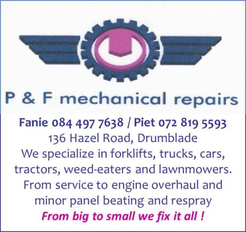 P&F Mechanical Repairs